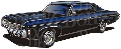 1969 Chevy Impala | Clipart Panda - Free Clipart Images