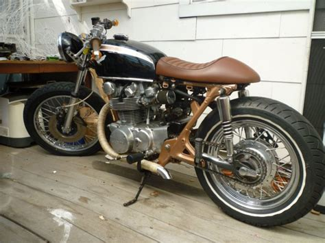 1974 HONDA CB450 CAFE RACER MOTORCYCLE | Custom Cafe Racer ...