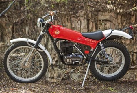 1976 Montesa Cota 348 Malcolm Rathmell Replica ...
