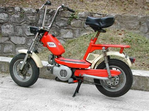 1977 Fantic Motor Concord Lei, Red | Moped Photos — Moped Army