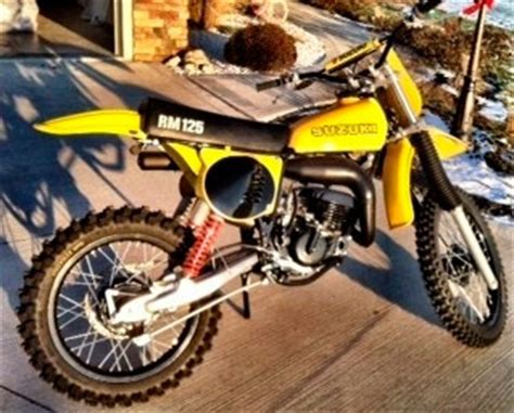 1978 Suzuki RM125 For Sale - IN
