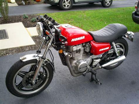 1981 Honda CM400 Custom / Cafe Racer Motorcycle | Custom ...