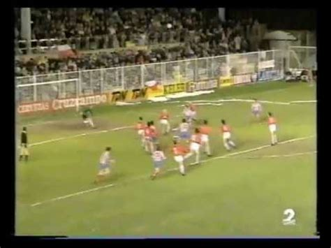 1990/91.  Real Burgos CF 1 Vs Atlético Madrid 1  Liga ...