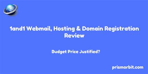 1and1 Webmail, Web Hosting & Domain Registration Review ...