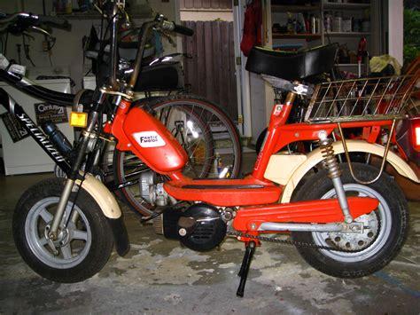 (2) 1977 Fantic Lei 49cc mopeds