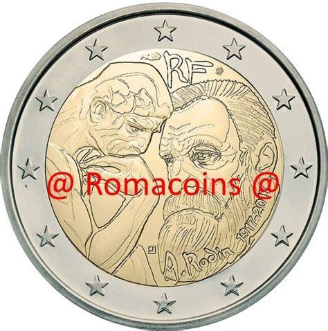 2 Euros Commémorative France 2017 Auguste Rodin Unc ...