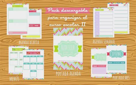 2º Pack para organizar el curso escolar del blog Lluvia de ...
