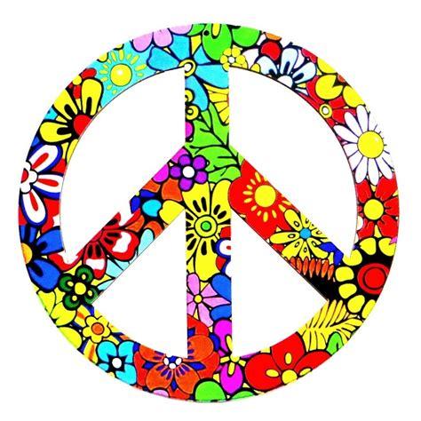2 Placas Hippie Símbolo Paz E Amor Símbolo Pés De Galinha ...