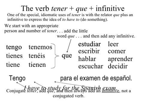2 the present tense of tener