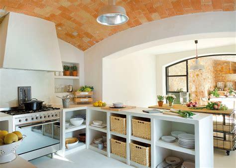 20 cocinas rústicas bonitas, con muebles vintage y mucho ...