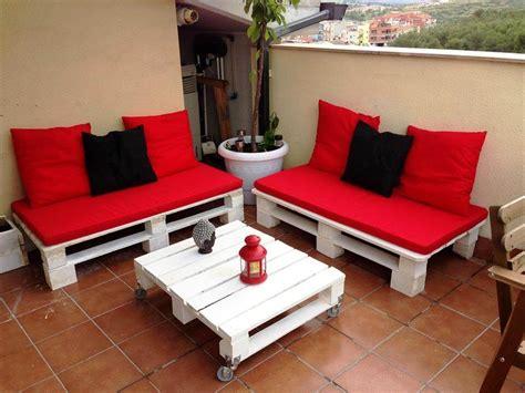 20 ejemplos de muebles hechos con pallets con los que ...
