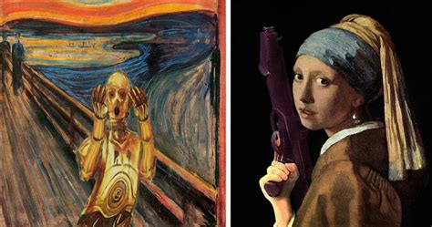 20 Famous Paintings Reimagined With Star Wars Elements ...