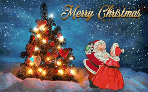 20 Great Santa Claus Animated Christmas Wishes Gif Images ...
