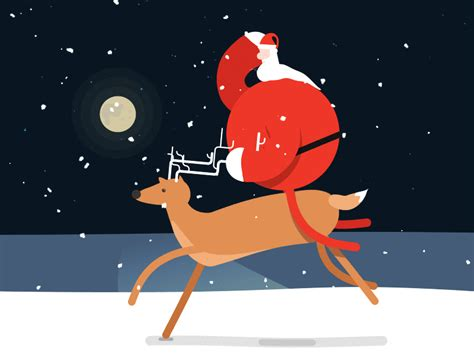 20 Great Santa Claus Animated Gif Images   Best Animations