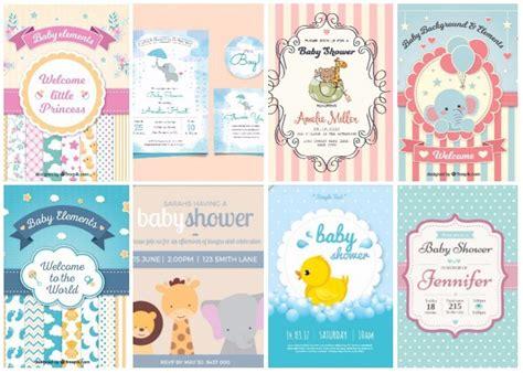 20 Invitaciones para Baby Shower: edita e Imprime GRATIS ...