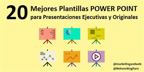 20 Mejores Plantillas Power Point para Presentaciones ...
