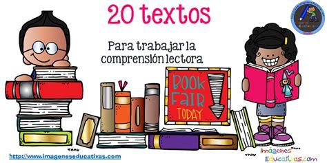 20 textos cortos para trabajar la comprensión lectora ...