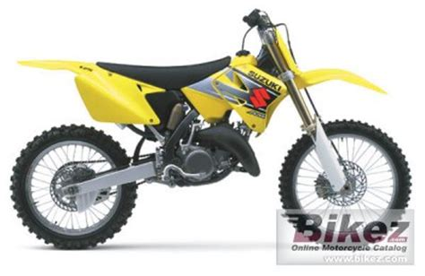2002 Suzuki RM 125 specifications and pictures