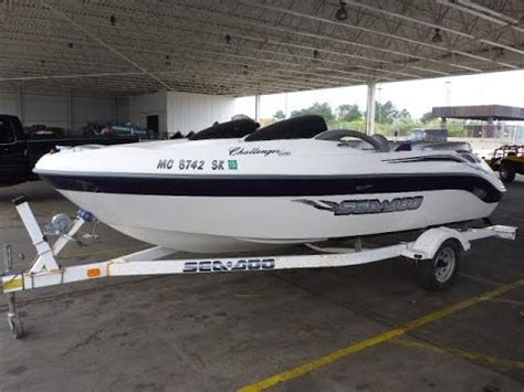 2003 Seadoo Challenger 1800 | For Sale | Online Auction ...