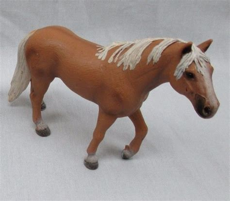 2006 Retired Schleich 5 Brown Palomino Stallion Horse ...