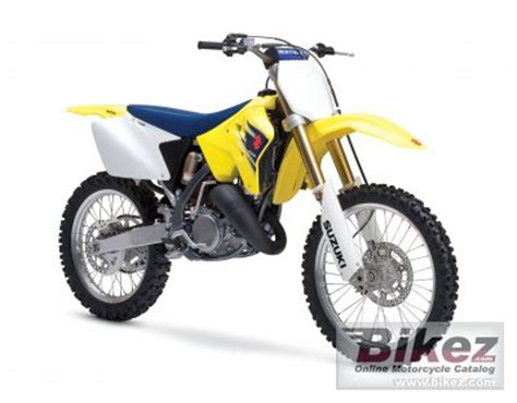 2007 Suzuki RM 125 specifications and pictures