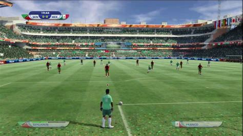 2010 FIFA World Cup  PS3  Online gameplay: St. Kitts vs ...