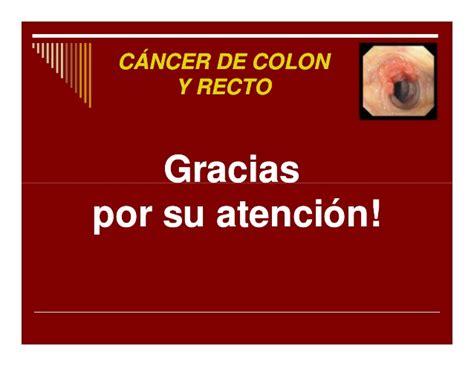 2010 tema 011 cáncer de colon y recto [modo de compatibilidad]