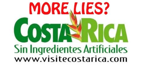 2012 ICT Costa Rica Tourism Numbers Real? | The Costa ...