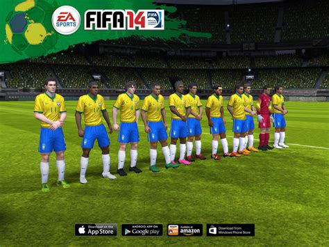 2014 FIFA World Cup on FIFA 14 Mobile – FIFPlay