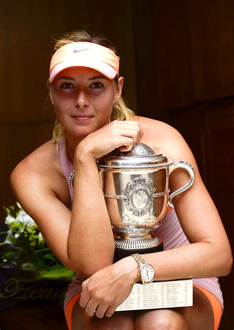 2014 French Open Champion; Maria Sharapova #WTA #Sharapova ...