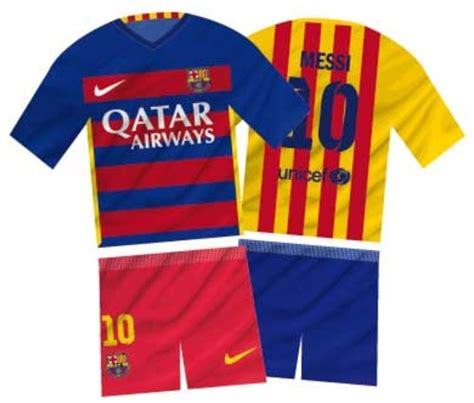 2015: Barcelona tendrá camiseta a franjas horizontales ...
