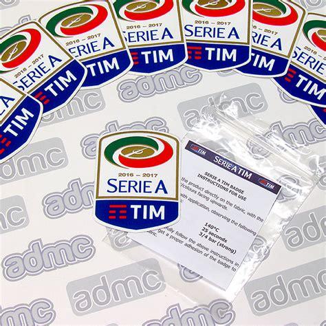 2016/17 Serie A Patches - ADMC LLC