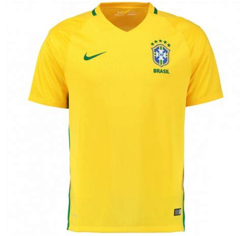 2016-2017 Brazil Home Nike Football Shirt (Kids) [724685 ...