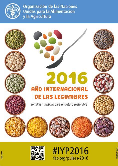 2016 Año internacional de las Legumbres: semillas ...