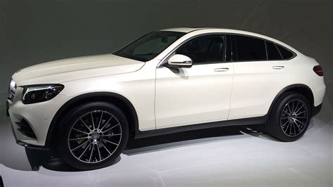 2016 Mercedes Benz GLC Coupe revealed in New York ...