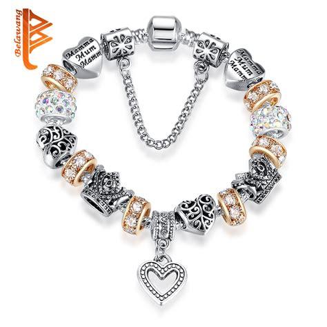2016 Russia Belarus Popular Women Bracelet 925 Silver ...