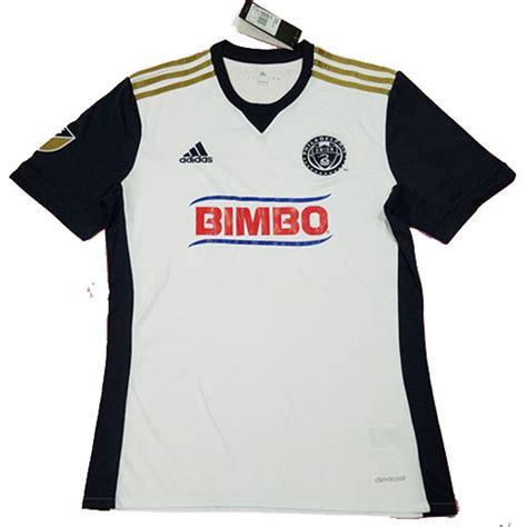 2017 18 Philadelphia Union Away Soccer Jersey Shirt ...