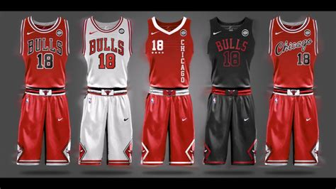 2017 2018 NBA New Nike Jersey Concepts for Every Team ...