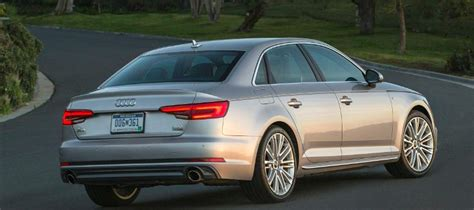 2017 Audi A4 AWD Boasts Segment's Only 6 Speed Manual ...