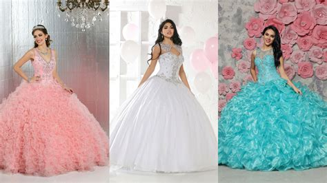 2017 Special Part Two: 9 More Quinceanera Gowns with Style ...