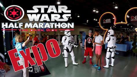 2017  Star Wars  Half Marathon   The Dark Side EXPO   Jedi ...
