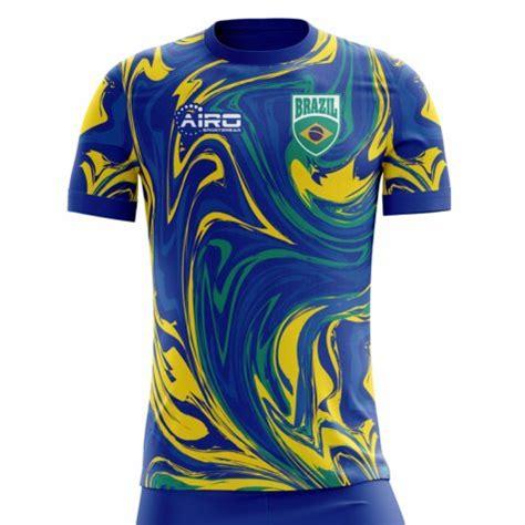2018 2019 Brazil Away Concept Football Shirt [BRAZILA ...