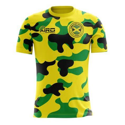 2018 2019 Jamaica Home Concept Football Shirt [JAMAICAH ...