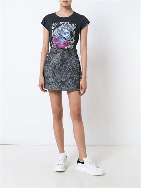 2018 De moda Mujer Ropa camiseta con unicornio estampado ...