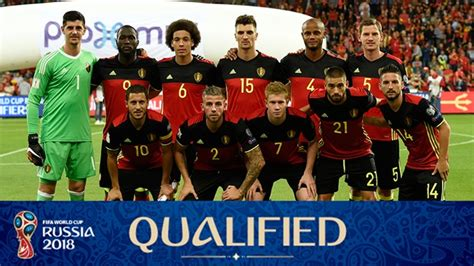 2018 FIFA World Cup Russia™ - Teams - Belgium - Profile ...