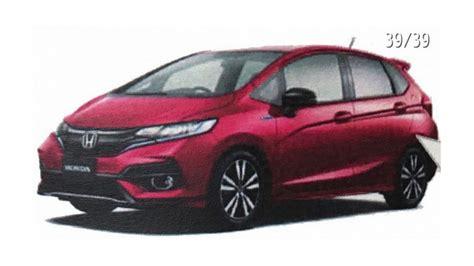 2018 Honda Fit / Jazz Facelift Leaks Out In Brochure Images