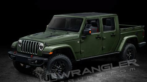 2018 Jeep Wrangler Scrambler pickup name and diesel engine ...