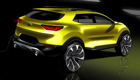 2018 Kia Stonic previewed in new sketches - UPDATE ...