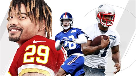 2018 NFL – Stat projections for top 10 rookie running ...