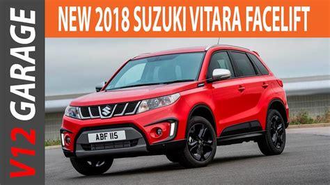 2018 Suzuki Vitara Facelift Specs and Review - YouTube
